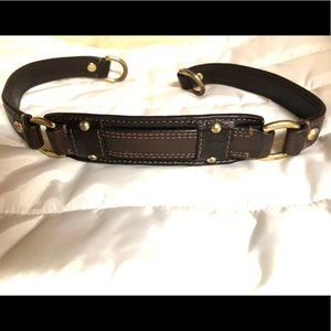 Coach Brown leather replacement purse strap